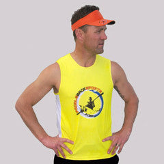 PBS Mens Paddle Tank - Yellow