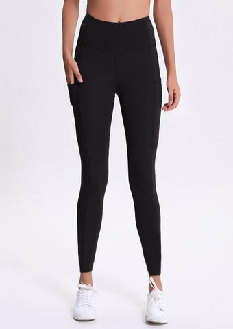 "NY Track ""Pocket"" Tights - Black"
