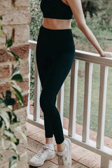 NY Track Tights - Black