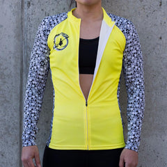 PBS Womens Paddle tank long sleeve - Yellow