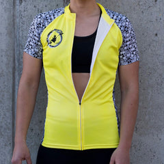 PBS Womens Paddle tank short sleeve - Yellow - DS Flex