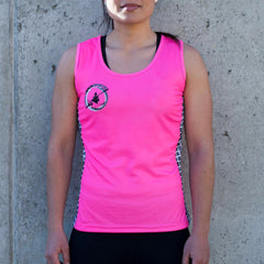 PBS Womens Paddle Tank- Pink - DS Flex