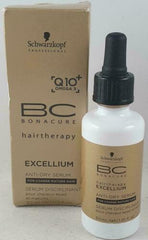 Schwarzkopf BC Bonacure Excellium Anti-Dry Serum 1.01oz (pack of 2)