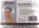 Annie Processing Caps Coloring Disposable Perm Shower 30ct