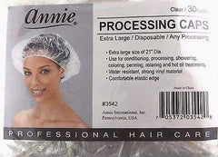 Annie Processing Caps Coloring Perm Shower 30ct