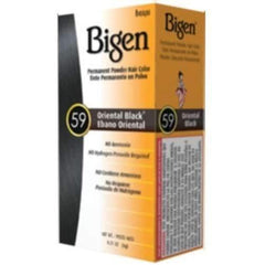 Bigen Hair Color Powder #59 Oriental Black - 1 pc