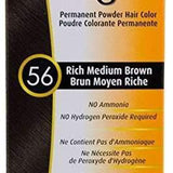 Bigen Permanent Powder Hair Color - 56 Rich Medium Brown - Forever Beauty Choice