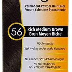 Bigen Permanent Powder Hair Color 56 Rich Medium Brown