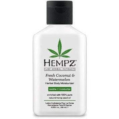 Hempz Pure Herbal Fresh Coconut & Watermelon Moisturizer 2.25oz