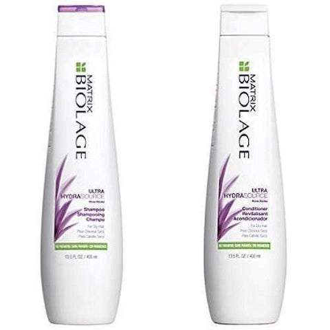 Matrix Biolage ULTRA Hydrasource Shampoo and Conditiner Set, 13.5 Oz Each