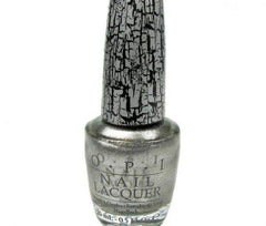 OPI Nail Lacquer, Silver Shatter, 0.5 fl. oz.