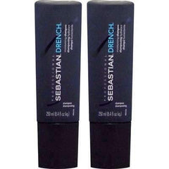 Sebastian Drench Moisturizing Shampoo 8.4oz (Pack of 2)
