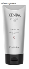 Kenra Styling Gel 17 Firm Hold Styling Gel 6 oz