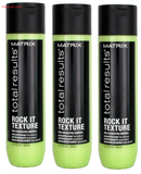 Matrix Total Results Rock it Texture Conditioner 10.1oz (pack of 3)