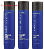 Matrix Total Results Brass Off Shampoo 10oz(pack of 3) sale