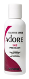 Adore Semi Permanent Hair Color, 142 Blush Pink 4oz**