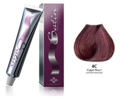 Satin hair color 4C Copper Brown 3 oz (pack of 2)