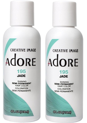 Adore Semi-Permanent Haircolor, [195] Jade 4 oz (pack of 2)