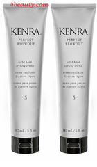 Kenra Perfect Blowout #5 Light Hold Styling Creme 5 oz(pack of 2)