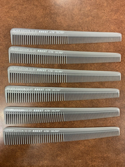 Professional hair comb Krest silver edition #50(pack of 6)