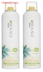Matrix Biolage Freeze Fix Hair Spray, 10 oz. NEW (pack of 2)