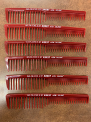 Professional hair comb Krest #6(pack of 6)