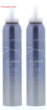 Joico Blonde Life Brilliant Tone Violet Smoothing Foam, 6.7 oz(pack of 2)