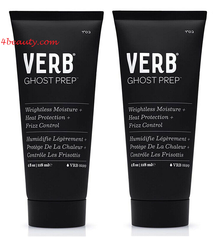 Verb Ghost Prep Weightless Moisture + Heat Protection + Frizz Control, 4 oz(pack of 2)