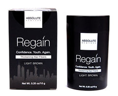 Absolute Regain Hair Fibers Light Brown (size)
