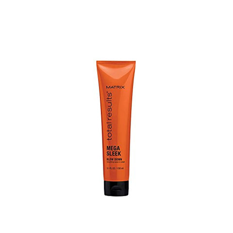 Matrix Total Results Mega Sleek Blow Down Smoothing Leave-In Cream, 5.1 oz