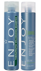 Enjoy Therapeutic Volumizing Sulfate Free Shampoo and Conditioner 10oz Duo
