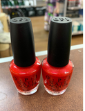OPI Nail Lacquer, Love Is A Racket (pack of 2)  NL S73