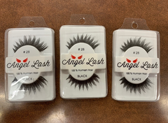 Angel Lash #28-3 pairs 100% Human Hair