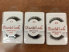 Stardel Lash 100% Human Hair Eyelashes Black - SF 02 (pack of 3)