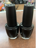 OPI Nail Lacquer, Black Onyx (pack of 2) NL 02
