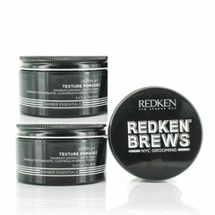 Redken Brews Texture Pomade 3.4oz ( pack OF 3 )