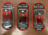 Speed O Guide Original Red Comb SPO0716 Clipper Attachment No.1 7/16