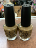 OPI Nail Lacquer, A-Taupe Space Needle, 0.5 fl. oz.(pack of 2)