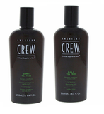 American Crew 3-In-1 TEA TREE Shampoo Conditioner & Bodywash, 8.4oz (pack of 2)
