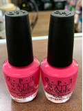 OPI Nail Lacquer, Strawberry Margarita, 0.5 fl. oz.(pack of 2)