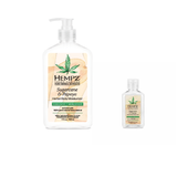 Hempz Herbal Body Moisturizer Sugarcane & Papaya (17oz+2oz) 2PC