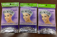 Annie SILVER CONDITIONER CAP EXTRA LARGE #4445 (pack of 3)