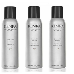 Kenra Extra Volume Mousse #17, 8-Ounce (Pack of 3 )