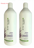 Matrix Biolage Hydrasource Detangling Solution 1 Liter (pack of 2)