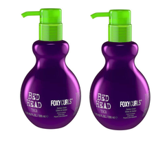 TIGI Bed Head Foxy Curls Contour Cream, 6.76oz (pack of 2)