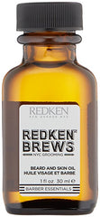 Redken Men's Brews Beard & Skin Oil, 1.7 fl. oz