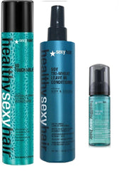 Sexy Healthy So Touchable Weightless Hairspray/mousse/Leave in Conditioner-3pc