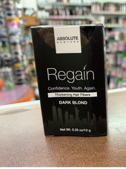 Absolute Regain Hair Fibers by Absolute 0.35oz /10g-dark blond