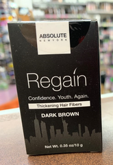 Absolute Regain Hair Fibers dark brown 0.35oz /10g