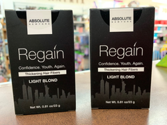 Absolute Regain Hair Fibers by Absolute 0.81oz / 23g light blond( pack of 2)